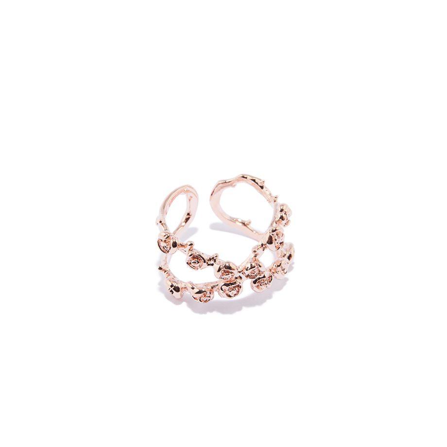 Rose Gold Ring, One Size Ring, Rose